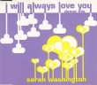 Sarah Washington - I Will Always Love You (4 Tracks Cd-Single)